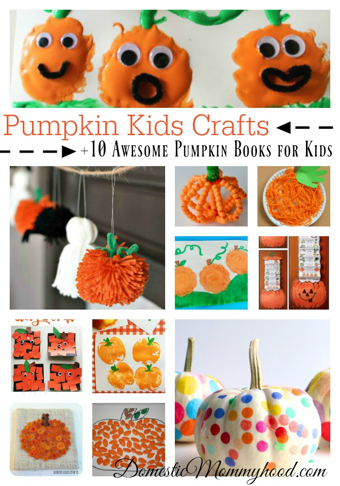 Pumpkin Kids Crafts