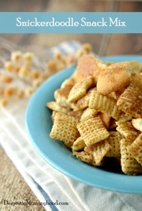 Snickerdoodle Snack Mix Recipe! Seriously Delicious!