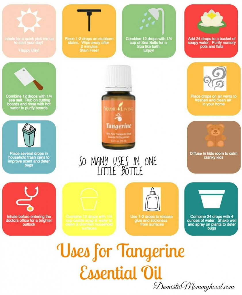 Uses For Tangerine Essential Oil So Many Uses In One