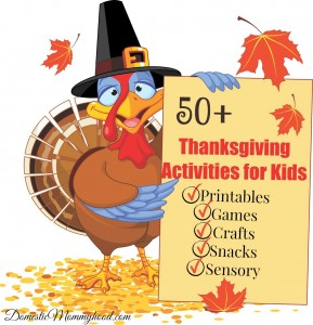 50+ Thanksgiving Activities for Kids