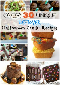Over 30 Unique Leftover Halloween Candy Recipes