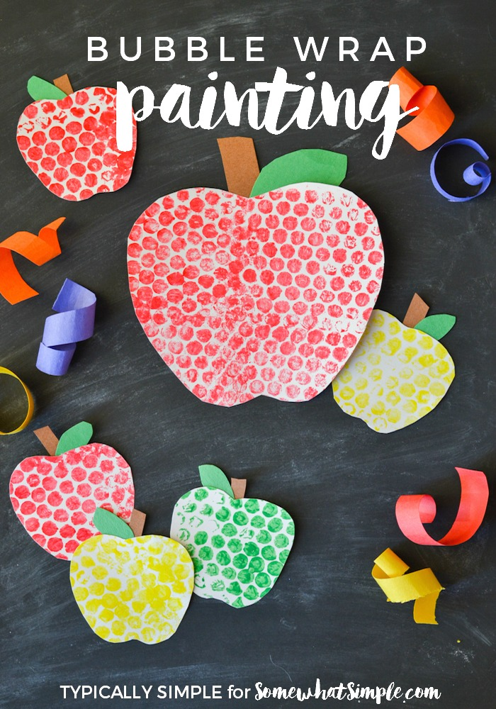 apple-kids-bubble-wrap-craft