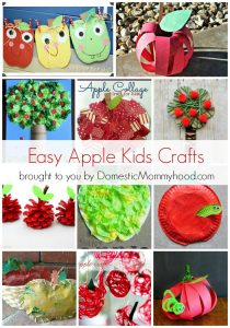 Amazing Apple Kids Crafts!