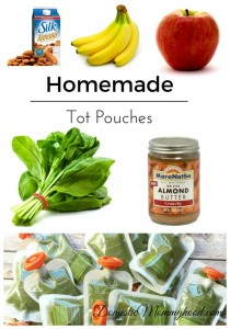 Homemade Tot Pouches (Homemade Food Pouches) #totpouches #foodpouches #diytotpouches