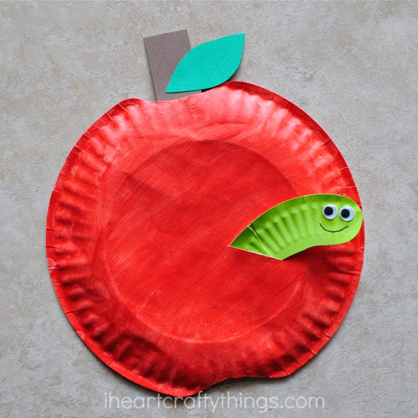 paper-plate-apple-kids-craft