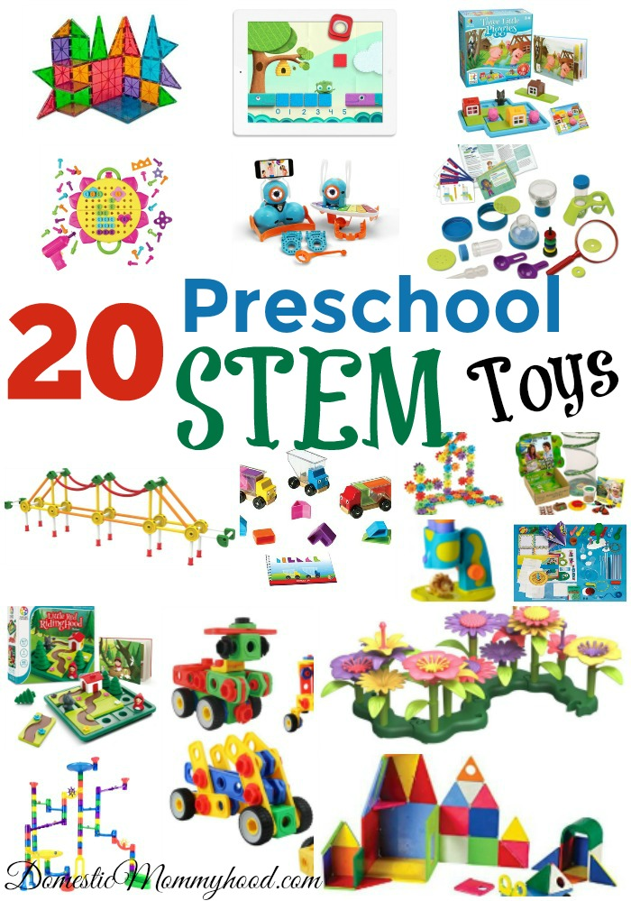 Toys For Preschool : Hot preschool stem toys for learning while they play