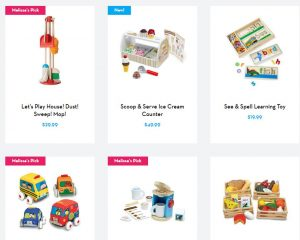Melissa and Doug BOGO 50% off One Day Sale