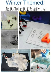 Winter Themed Kids Activities: Arctic/Antarctic