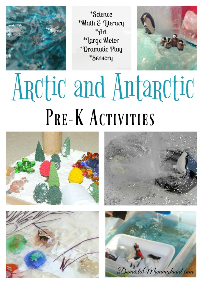 Arctic and Antarctic Theme for Pre-K Activities