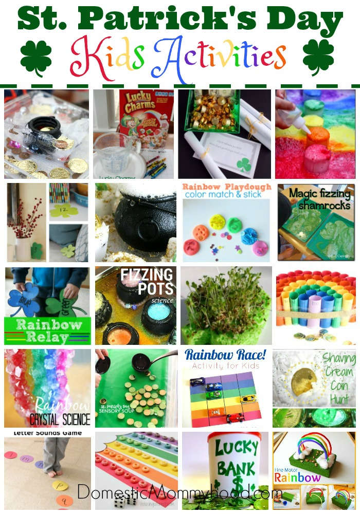 20 St. Patrick's Day Kids Activities