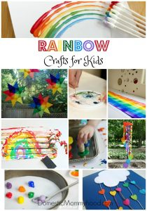 27 Rainbow Crafts for Kids