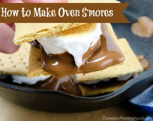 Cast Iron Skillet Recipe: How to Make S'mores in the Oven