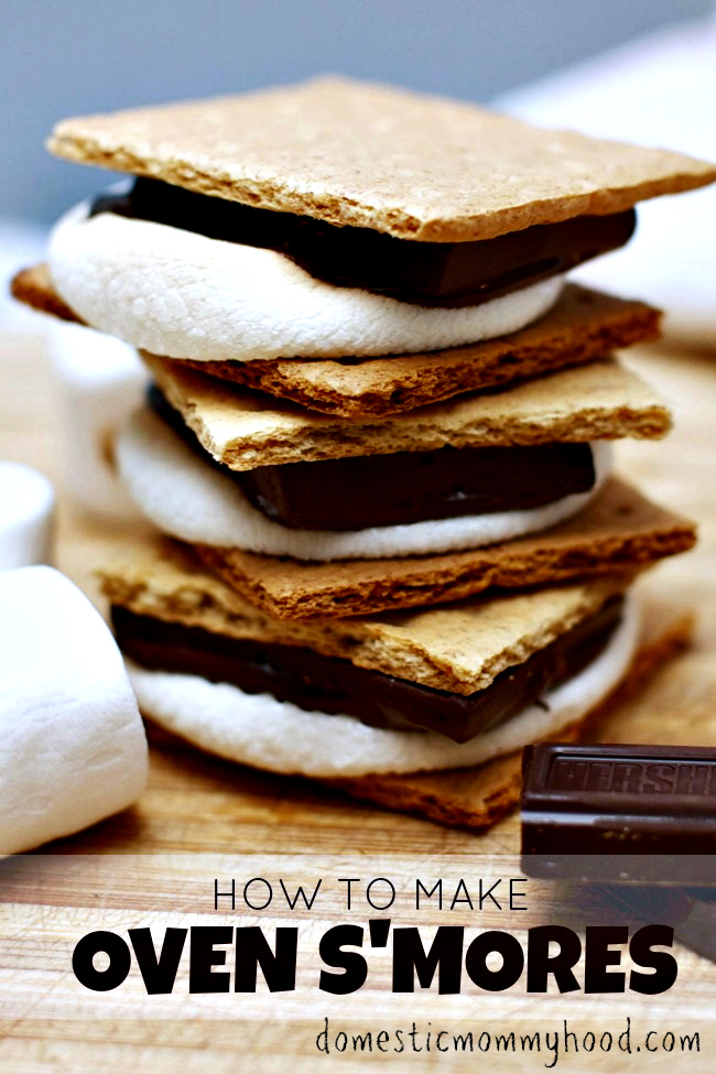 how to make smores in oven