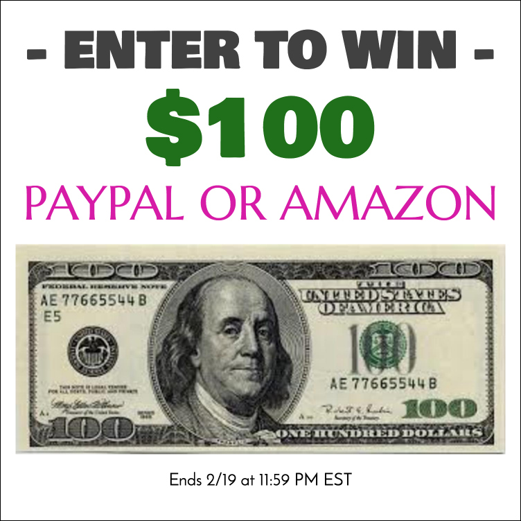 100 Giveaway