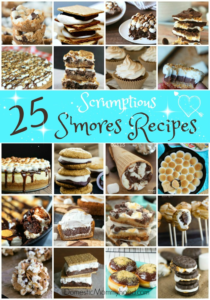 25 Scrumptious S'mores Recipes