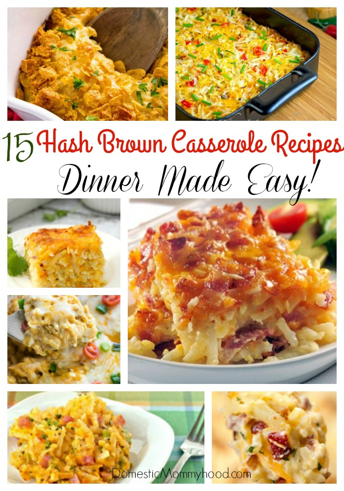 15 Hash Brown Casserole Recipes (Easy Dinner Ideas)