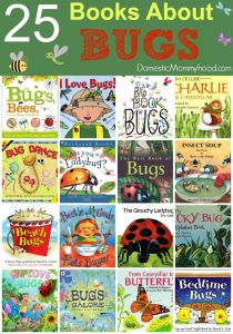 25 Books About Bugs