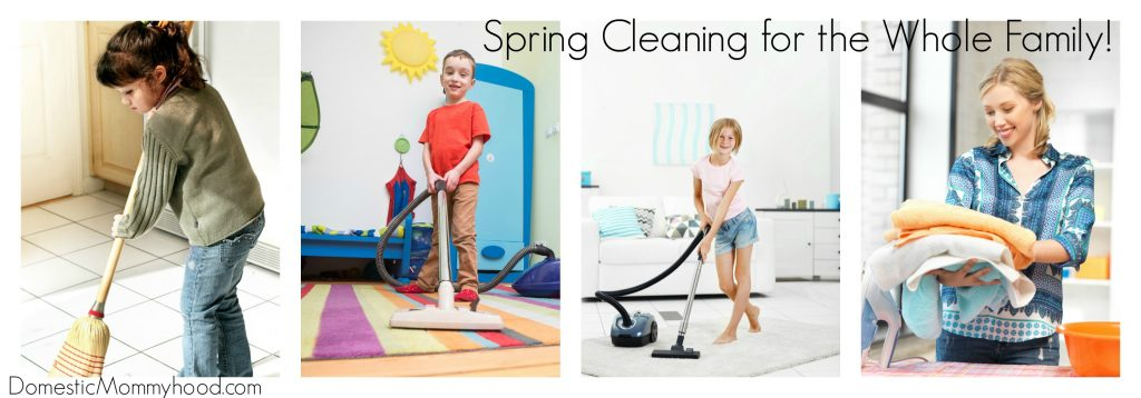 spring cleaning for the whole family