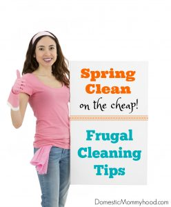 How to Spring Clean on the Cheap! (Frugal Cleaning Tips)